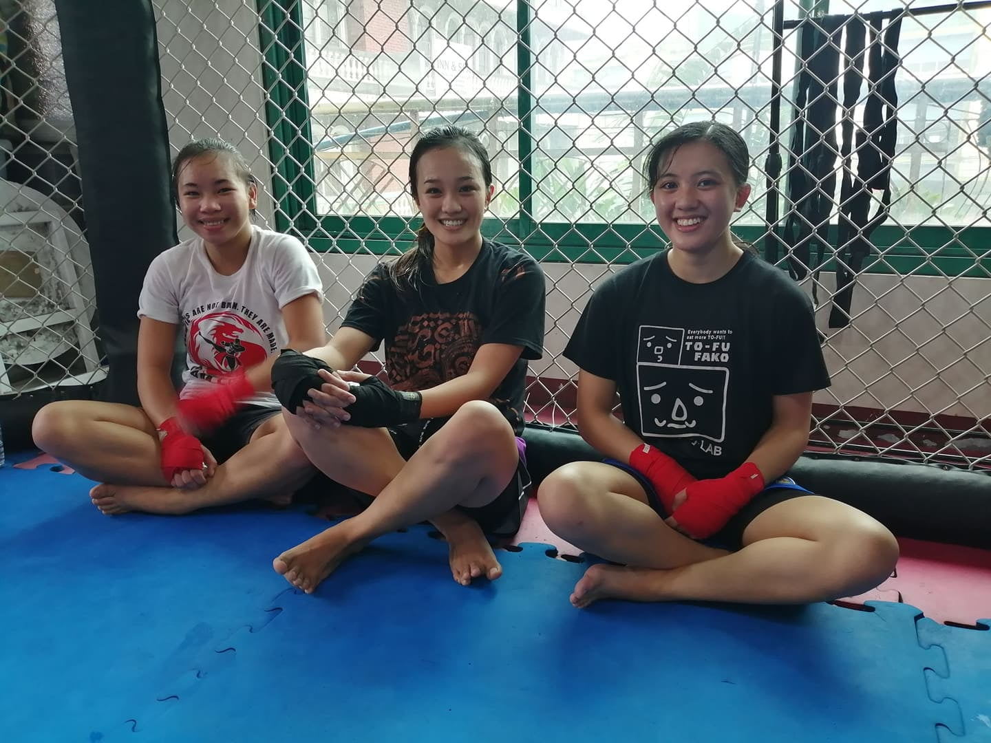 Strong and Beautiful: These ladies training at Team Lakay shows Women Empowerment!